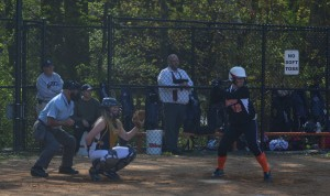 Freshman Katie Kelly stepped up to bat when the team battled Magruder in a thrilling 3-2 win on April 23. The team won their division this year and has managed to keep a win steak the majority of the season. Kelly, along with other underclassmen, has made key contributions to the team this season. --Adam Bensimhon