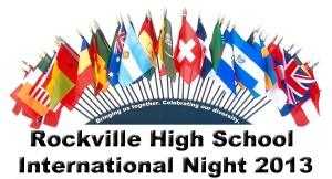 Ad for International Night 2013