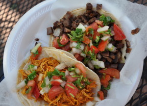 The Taco Bar in Washintonian Center fit the budget at 18 dollars or less. The restaurants inexpensive Mexican food meets the cost standard and is also a fun eatery to visit with friends. --Ben Vayer