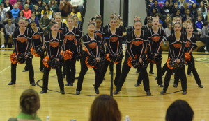 The poms performed among six other teams at their first competition of the season on Jan. 11 at Northwest HS and earned fourth place. --Adam Bensimhon