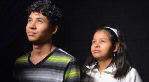 Deret Nolasco and his sister Doris. --Camila Torres