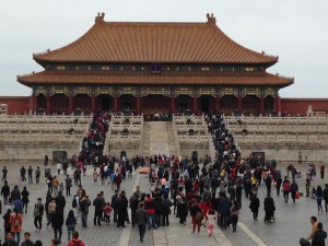 Principal Billie-Jean Bensen visited the former Chinese imperial palace in     Beijing called the