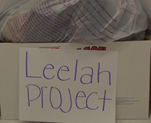 The donation bins for the GSAs clothing drive for The Leelah Project are located inside room 2067. --Mercy Fosah