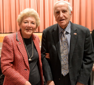 Halina Peabody and Henry Greenbaum lived in Poland during World War II and suffered throughout the Holocaust. They are both a part of Portraits of Life, an organization that allows Holocaust survivors in Montgomery County to share their stories with local students. --Elissa Britt