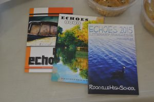 Echoes promote the literary magazine.